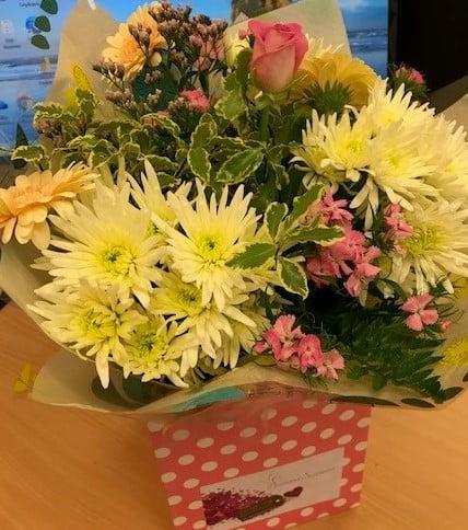 Client flowers